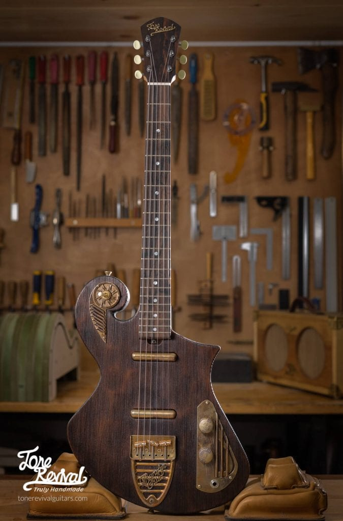 Handcrafted lightweight Guitars