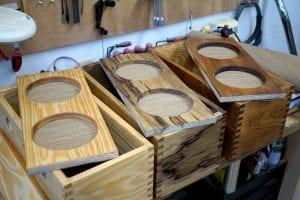 9 VOG guitar amp cabinets