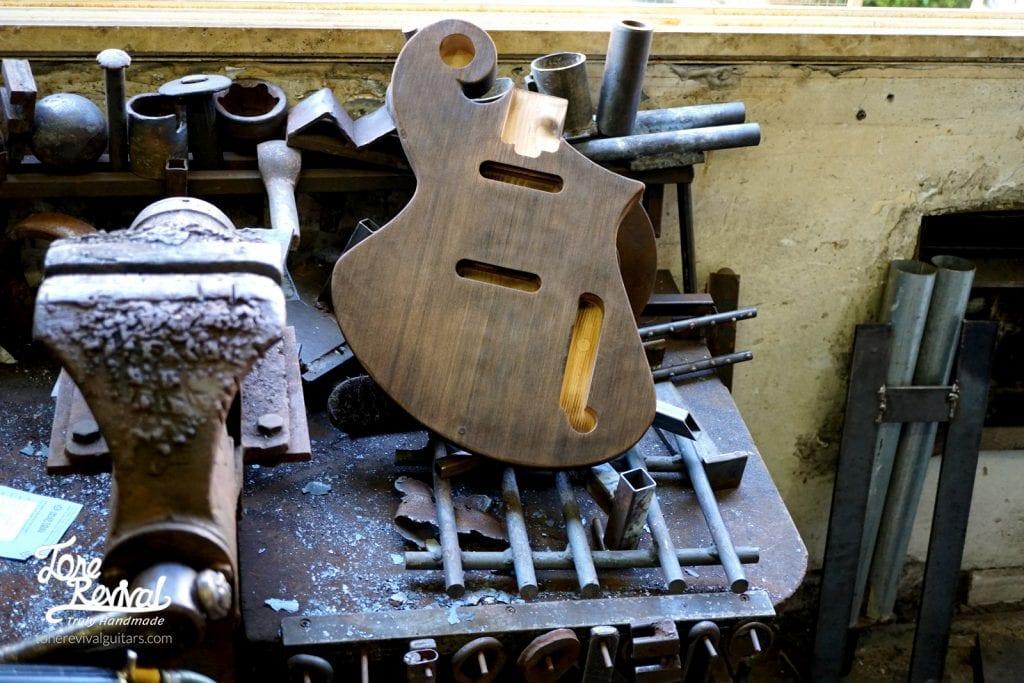 handmade guitar