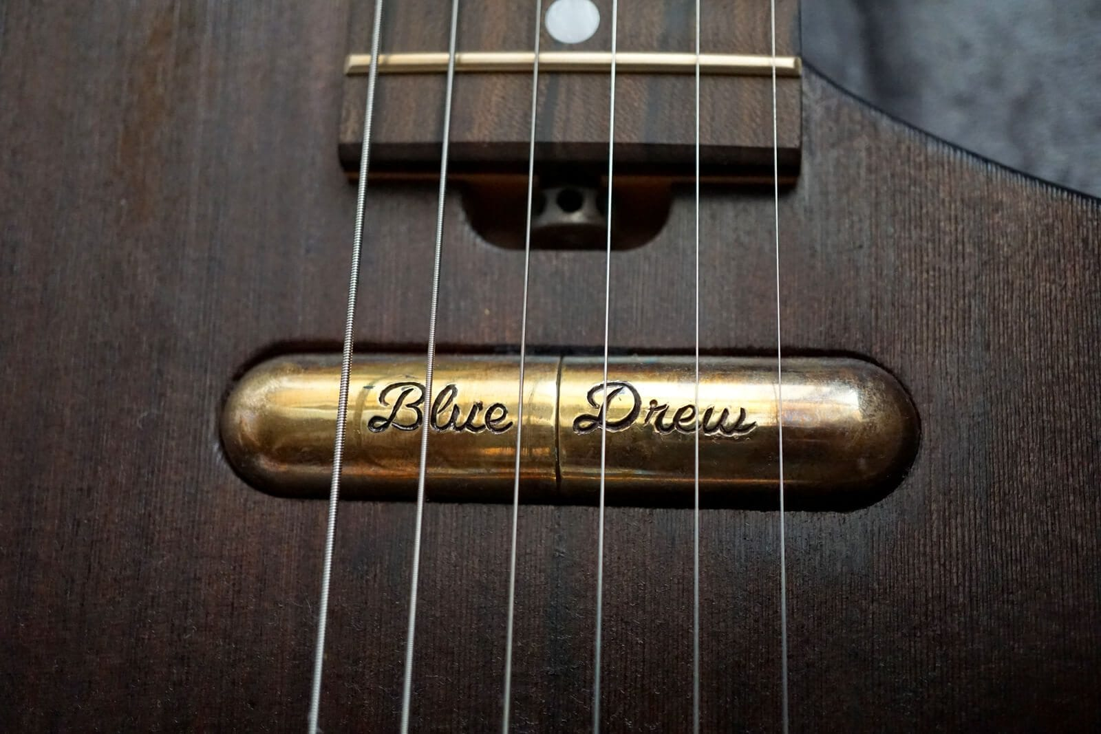 Hand engraved pickup covers