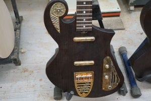thunder child custom lightweight guitar
