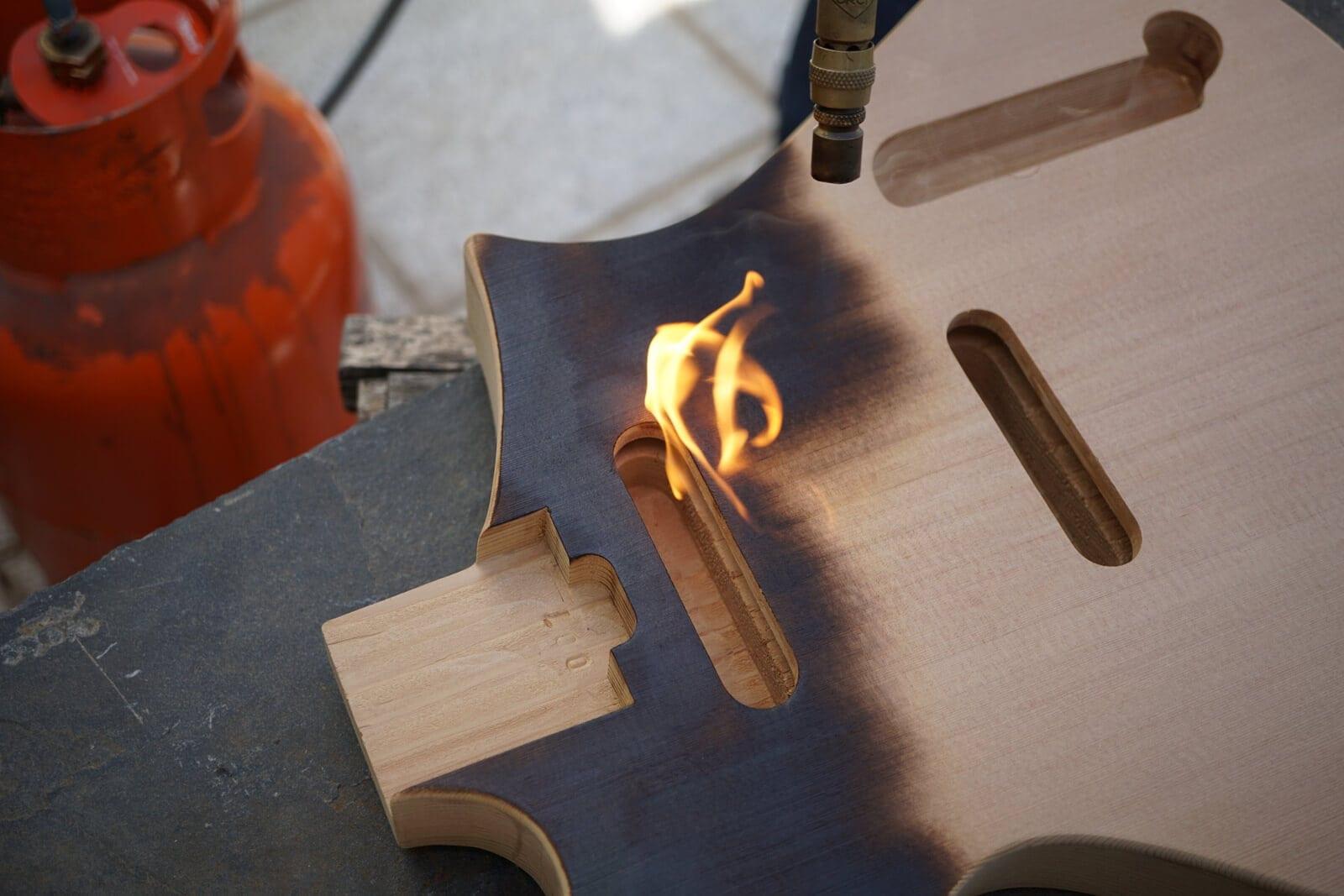 custom guitar wood