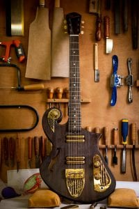 custom electric guitars shop