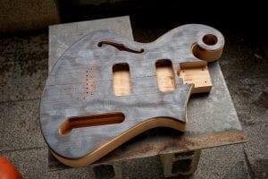 Hand Made guitar