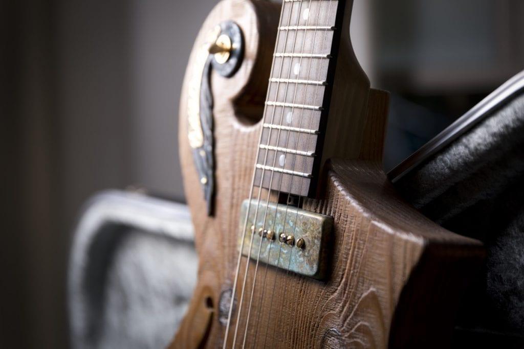custom guitars handcrafted