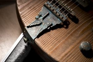special brass tailpiece guitar