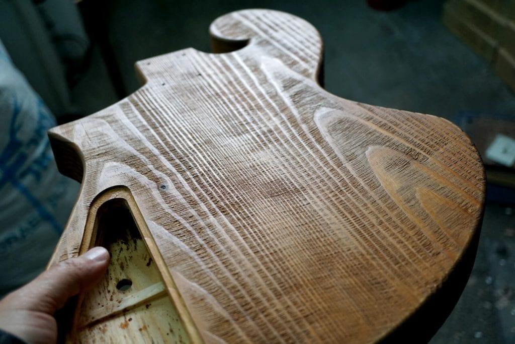 hand made custom guitars