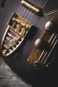 handmade aged brass knobs and tailpiece
