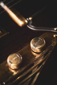 custom brass guitar knobs