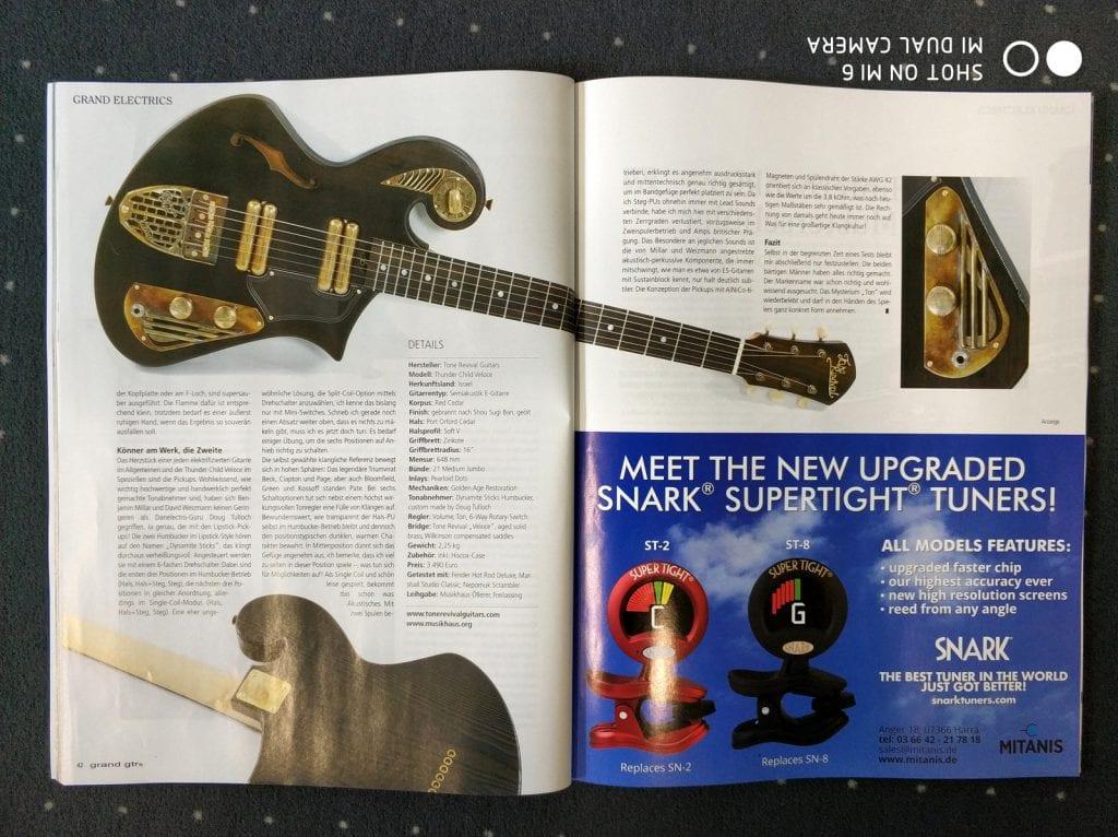 Thunder Child Veloce - Grand Guitars Magazine
