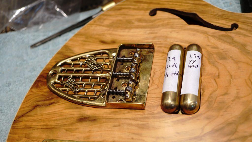 The new upcoming Methuselah Ancient Olive Custom Guitar