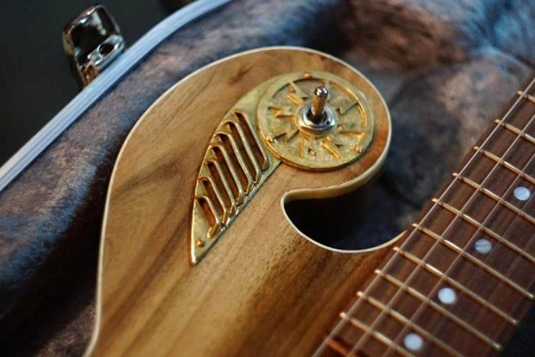 Thunder Child Handcrafted guitar