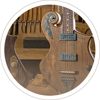 unique guitars by Tone Revival Guitars