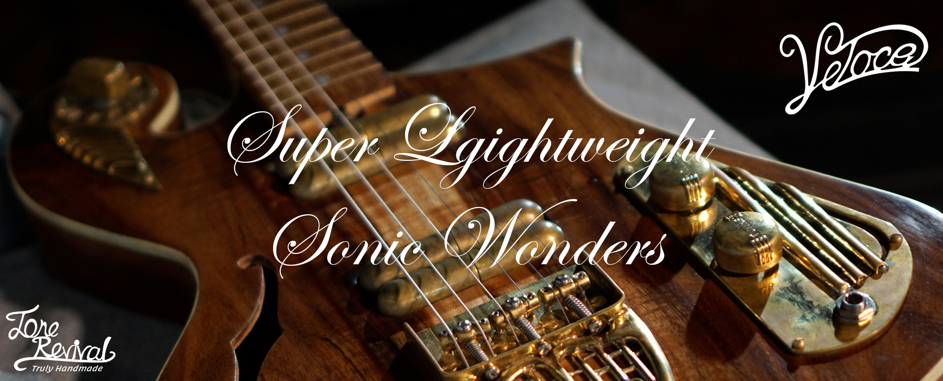 unique guitars - super lightweight sonic wonders by Tone Revival Guitars
