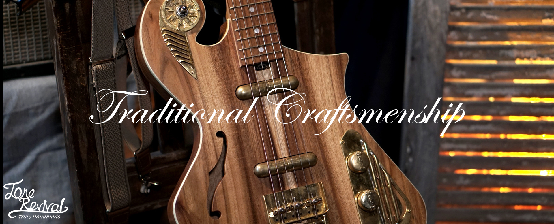 unique guitars - traditional crafsmanship by Tone Revival Guitars