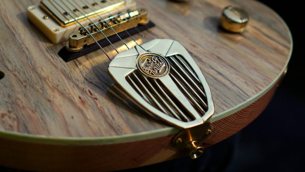 Handmade Guitar made from Jerusalem Pine - Spirit of the Wind by Tone Revival Guitars