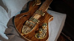 custom guitar - Rare Salvaged Judean Desert Acacia Thunderchild Veloce