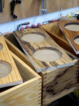 Assembling some 9 VOG guitar amp cabinets