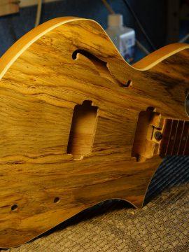 The Upcoming New Spirit of the Wind Custom Jerusalem Pine Guitar