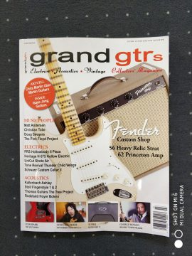 "The Thunder Child ""Veloce"" Custom Guitar at Grand Guitars Magazine!"