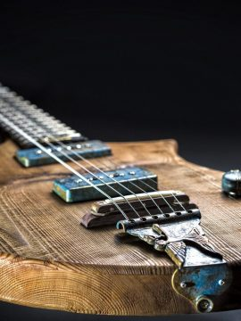 The Spirit of the Wind Custom Guitar