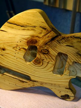 Reclaimed wood guitar-How to use old wood to craft a guitar