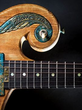 The Story of the Spirit of the Wind Handmade Guitar