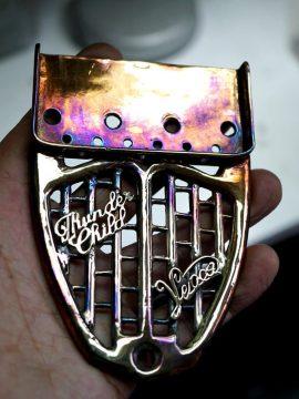 Custom Brass Hardware for our Custom Guitars
