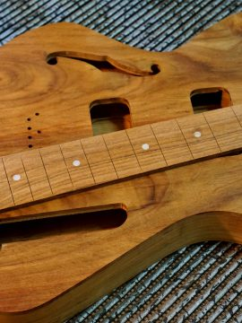 More Upcoming Wild Rosewood Thunder Child Veloce Handcrafted Guitars