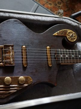 Stephen Barnes Thunder Child Custom Guitar